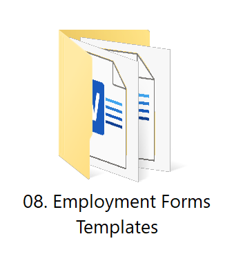 08. Employment Forms | HR Toolkit Box | No.1 Startup HR Toolkit | Best HR Toolkit in India!!!