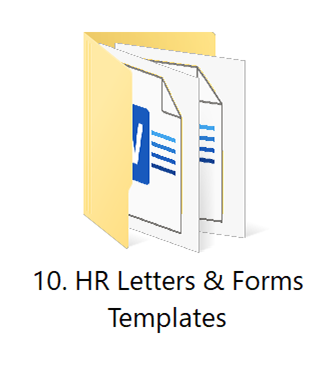 10. HR Letters 1   HR Toolkit Box   No.1 Startup HR Toolkit   Best HR Toolkit in India!!!