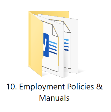10. Policies | HR Toolkit Box | No.1 Startup HR Toolkit | Best HR Toolkit in India!!!