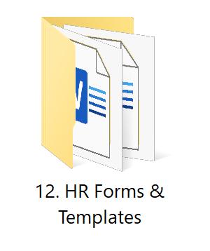 12. HR Forms | HR Toolkit Box | No.1 Startup HR Toolkit | Best HR Toolkit in India!!!