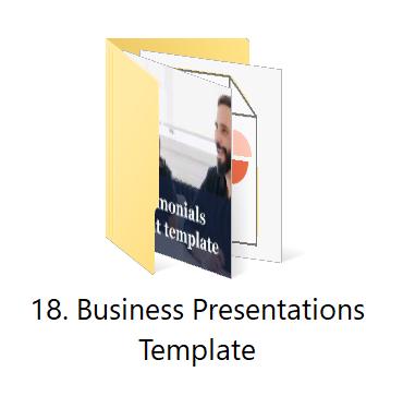 18. Business Presentations | HR Toolkit Box | No.1 Startup HR Toolkit | Best HR Toolkit in India!!!